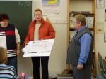 400,00 € an Geschwister-Scholl-Schule in Ruhland übergeben.